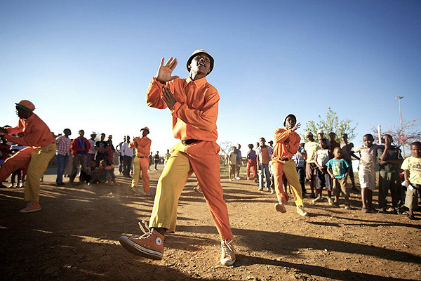 Picture from Bryan Little's award winning South African documentary film African Cypher that follows dancers as they prepare in townships and on the streets for the Red Bull Beat Battle