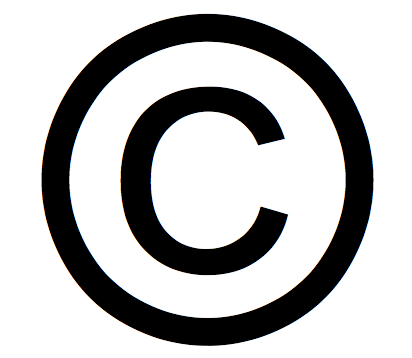The international copyright symbol. In countries that are signatories to international copyright conventions, marking an image as copyrighted with this symbol is not a requirement for ensuring the image is protected by copyright law. However, marking images with the symbol in the relevant metadata field is advisable since it informs users that the image is copyrighted